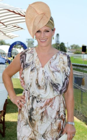 Zara Phillips attends Magic Millions Raceday at Gold Coast Turf Club on January 12, 2013 on the Gold Coast, Australia.