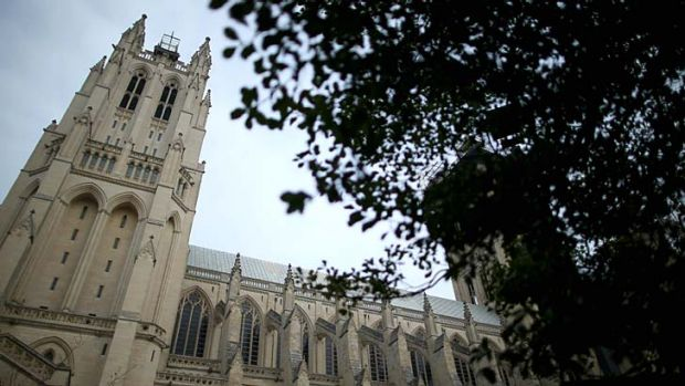 Symbolic home of the US's collective soul ... Washington National Cathedral.