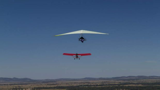 World hang gliding championships in Forbes.
