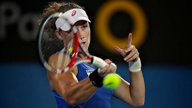 """Sometimes it'is a lot easier said than done"" … Stosur."