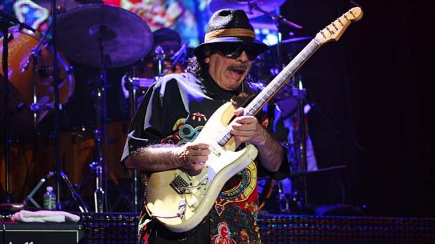 Putting Deni on the map ... Santana plays Madison Square Garden.