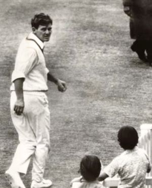 Haunted: Spin bowler John Watkins' humiliation was big news in The Age in 1973 but he is still willing to talk about it.