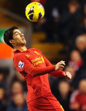 Reds ace: Liverpool's Luis Suarez has earned plenty of plaudits, as well as criticism, this season.