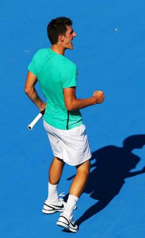 A good fit: Bernard Tomic says improved fitness is behind his good start to 2013.