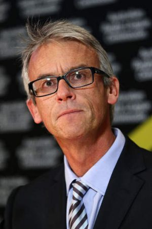 Positive about Canberra ... David Gallop.