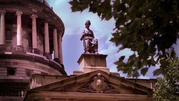 Old and outdated: The Victorian Supreme Court.