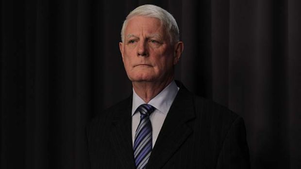 Leading the taskforce ... Len Roberts-Smith.