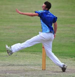 James Weighall from Albury Wodonga took 2-17 off four overs.