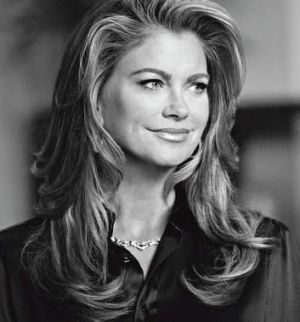 """""""I had the look of the moment: the monobrow was in and I had one big eyebrow"""" … Kathy Ireland."""