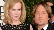 Actress Nicole Kidman (L) and singer Keith Urban arrive at the 70th Annual Golden Globe Awards held at The Beverly ...