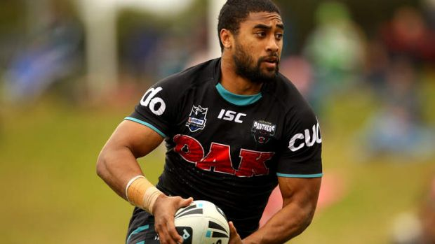 On the move ... but Cronulla have denied they are interested in Michael Jennings.