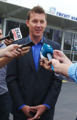 """""""Getting NSW back to No.1, to where it was, was their  main concern"""" ... Brett Lee."""