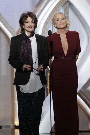 Fun duo: Tina Fey and Amy Poehler got the gags right.
