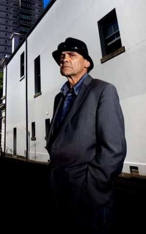 Aboriginal activist Robbie Thorpe is keen to protect the parklands.