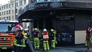 Fire causes Lansdowne Hotel evacuation (Video Thumbnail)