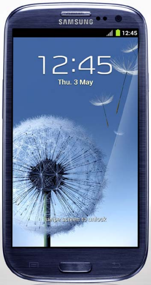 Popular ... Samsung's Galaxy S III.