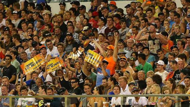 Tickets for Wednesday night's Perth Scorchers semi-final took less than three hours to sell out.