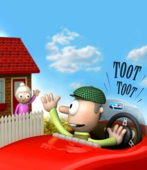Driving seat … car-sharing schemes offer hourly and daily rates. <i>Illustration: John Shakespeare</i>
