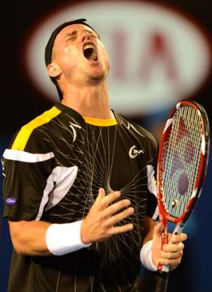 Rankings-wise, Lleyton Hewitt's encouraging summer amounted to nothing.