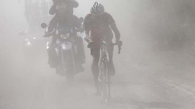 Harsh conditions ... Lance Armstrong, seen in the 2010 Tour de France, will face heavy fallout.