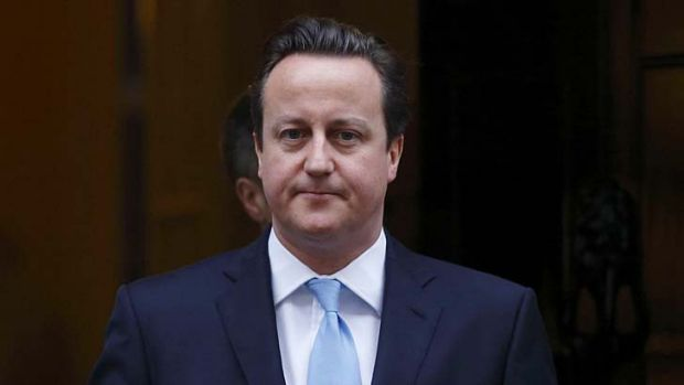 An admirer: British Prime Minister David Cameron says Boris Johnson can do almost anything.