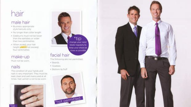 Well-groomed: Pages from the Virgin Airlines Look Book.