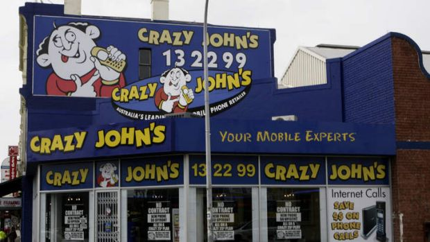 End of the line ... Crazy John's.