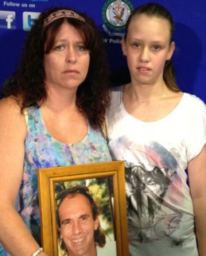 Looking for answers ... Anthony Attard's sister, Donna Sim, and her daughter Ashlee.