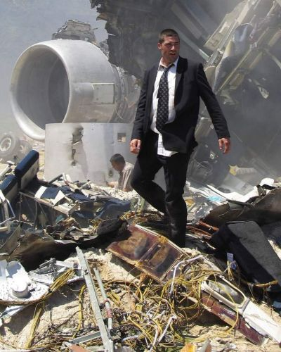 Matthew Fox and the plane crash.