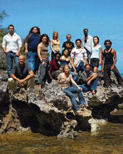 "The cast of the long-running series ""Lost""."