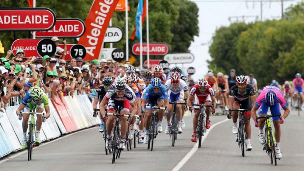 The Tour Down Under is increasing in popularity.