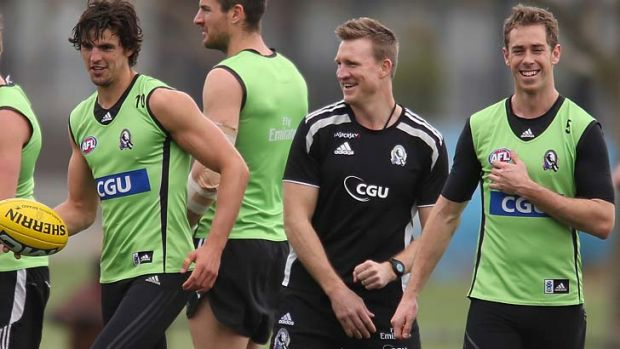 Scott Pendlebury and Nick Maxwell are the leading candidates for the Collingwood captaincy, which is not decided by ...
