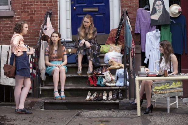 The cast of Girls return for a second season.