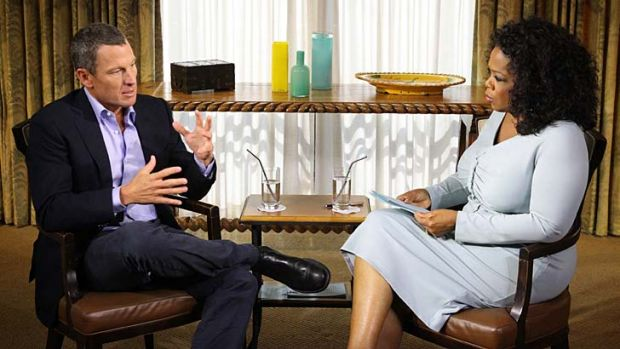 Tell all or puff piece ... Oprah Winfrey's interview with Lance Armstrong airs on Friday.