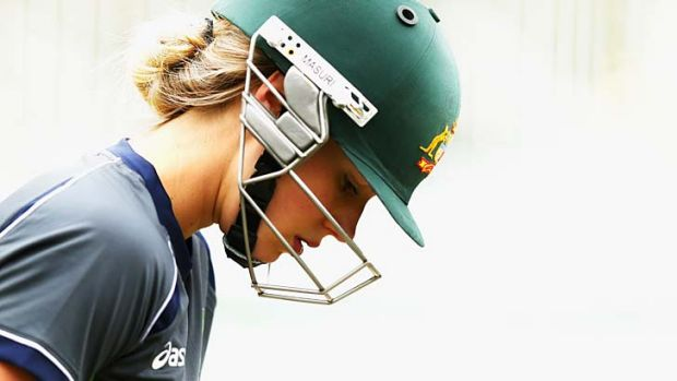 Tough decision ... Ellyse Perry.