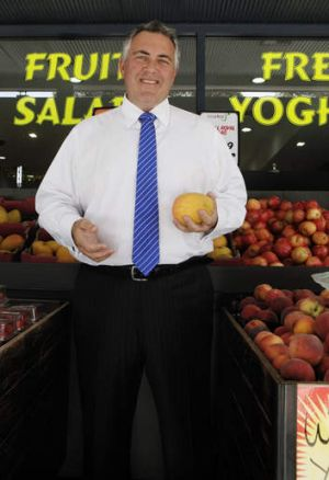 Shadow Treasurer Joe Hockey has come back from holidays a leaner figure.