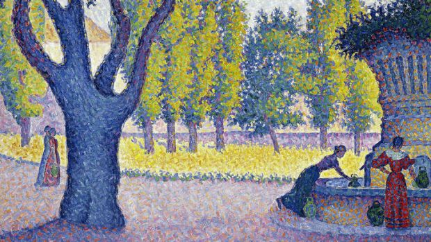 Paul Signac's Saint-Tropez Fountain (1895)