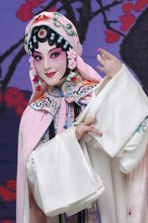 """""""Intricate adn exquisite"""" ... Wei Chunrong as Du Liniang in The Peony Pavilion."""