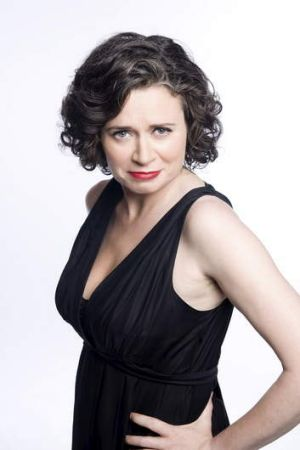 Funny business ... Judith Lucy echoes her on-stage tone.