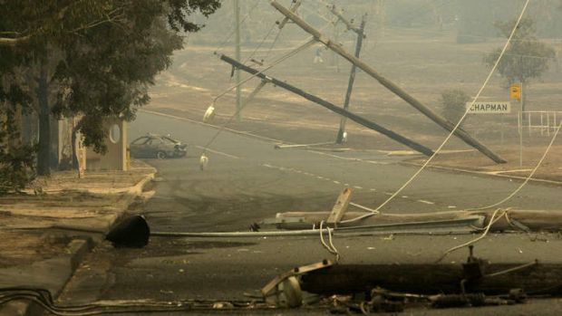 The 2003 bushfires in Canberra are still in the minds of <i>Canberra Times</i> journalists.
