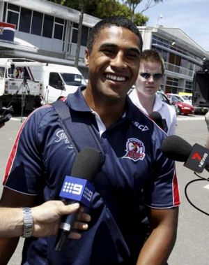 """I've got no bad blood with Penrith. I love Penrith"" ... Michael Jennings."