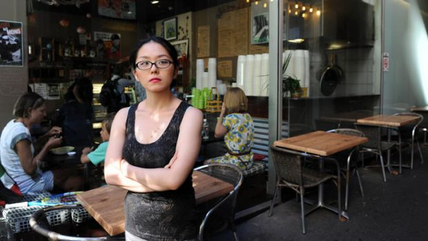 'Underpaid'... Yuka Odashima worked at a Japanese bar and restaurant for $15 an hour.