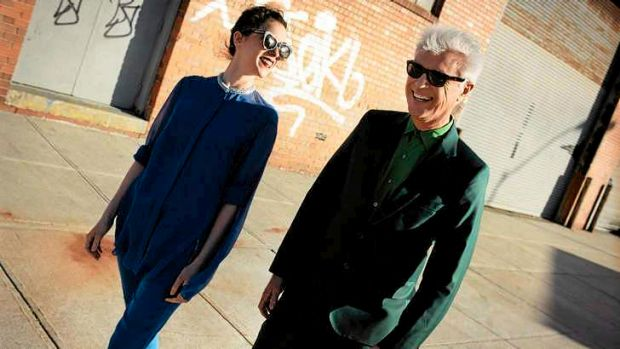 David Byrne and St Vincent.