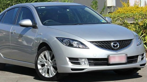 The type of Mazda involved in the fatal Wundowie crash in July.