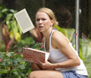 Naomi Watts faced her fears in filming <i>The Impossible</i>.