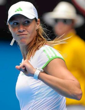 Alicia Molik at the Australian Open in 2011.