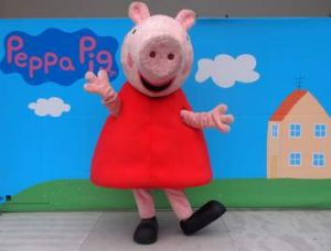 Peppa Pig will perform at an Australia Day event at Commonwealth Park on January 26.