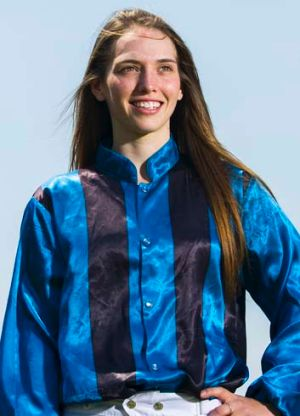 Snap happy … apprentice Kayla Nisbet will ride Snappy Diamond for her father, John, in the Inglis Classic at Rosehill.