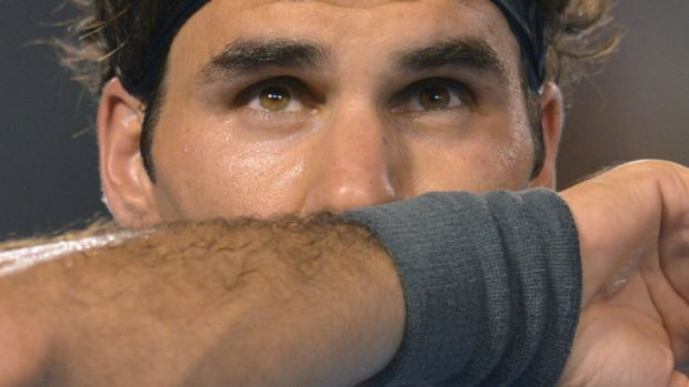 Roger Federer enjoys playing the young and up-and-coming players, according to a former coach.
