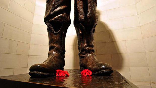Evocative ... the Australian War Memorial.